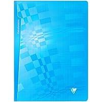 Clairefontaine Metric 203361C - Cuaderno (cuadrícula grande, grapado, 24 x 32 cm, 96 páginas), color aleatorio