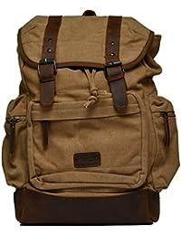 Amado Unisex Shoulder Bag (Khaki) (1047-1_khaki)
