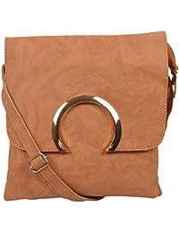 Trendz Sling Bags for Girls (Bronze, 578)