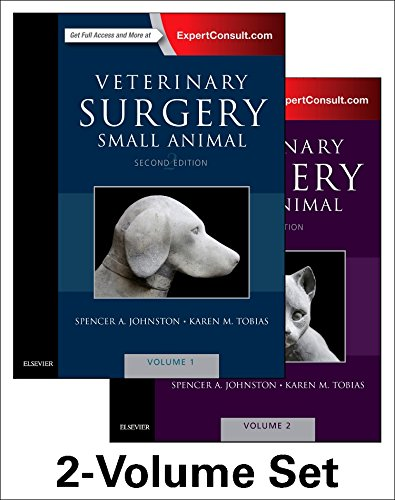 Veterinary Surgery: Small Animal Expert Consult: 2-Volume Set, 2e por Spencer A. Johnston VMD  DACVS