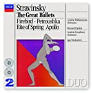 Stravinsky: The Great Ballets (2 CDs)