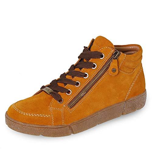 ARA Damen ROM 1214435 Hohe Sneaker, Gelb (Curry 09), 39 EU