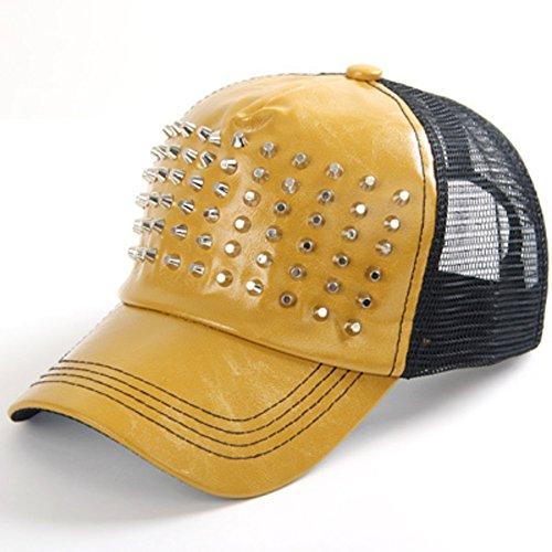 Les casquettes de baseball/Hommes et femmes printemps et été mesh Cap/Chapeaux de hip-hop de rivet D