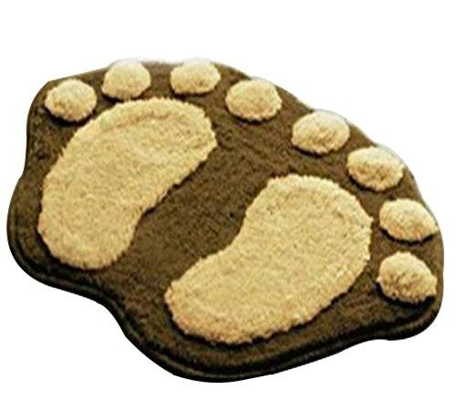 Hosaire 1 x Moda Baño de pies Grandes y Lindos Antideslizante Alfombr