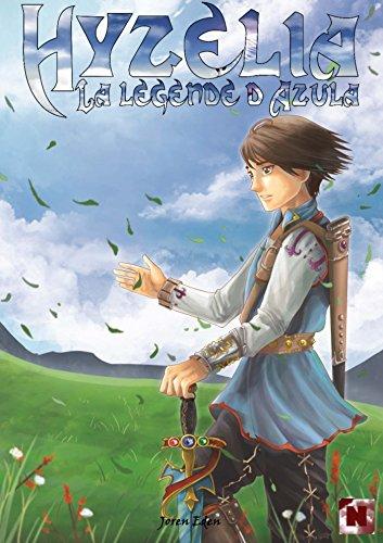 Couverture du livre Hyzélia : La légende d'Azula