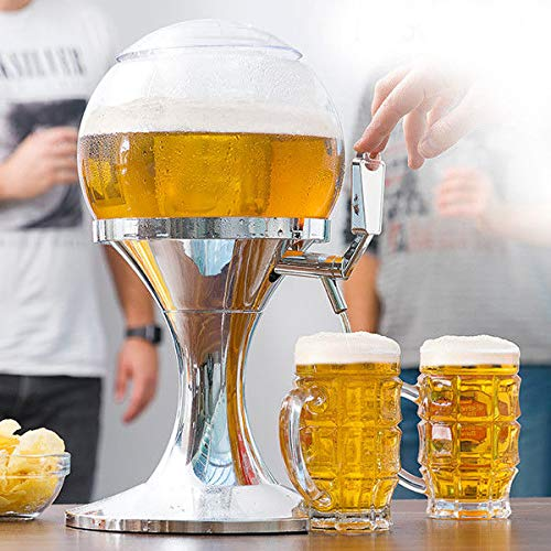 Dydaya DISPENSER & Handle & Beer Tap PORTABLE for HOME with Cooler for Beer Fria & Heineken & Estrella & Cruzcampo & Mahou & Fagor - Barrel & Pump 3,5 L (3,5 liters)