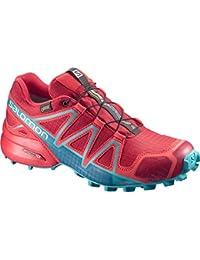 Salomon Speedcross 4 Nocturne GTX W, Chaussures de Trail Femme, Bleu, 49.3 EU