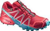 Salomon Speedcross 4 GTX, Scarpe da Trail Running Donna, Rosso (Barbados Cherry/Poppy Red/Deep Lago), 36 2/3 EU