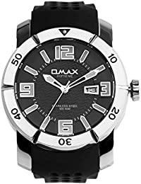 OMAX Black Dial Analogue Watch for  (SS339)