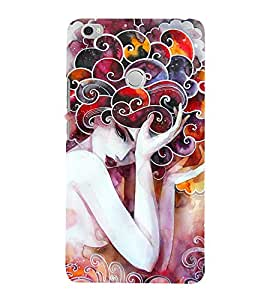 Wonderful Woman Painting 3D Hard Polycarbonate Designer Back Case Cover for Xiaomi Mi Max
