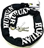 TriEcoWorld HEAVY DUTY Motorcycle Motorbike Bike Bicycle Cycle Security Chain Lock PadLock Anti-Theft Chain Lock (1.5 Metre)