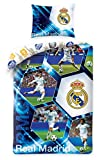 Real Madrid Bettwäsche Player 140x200cm RM-5024BL