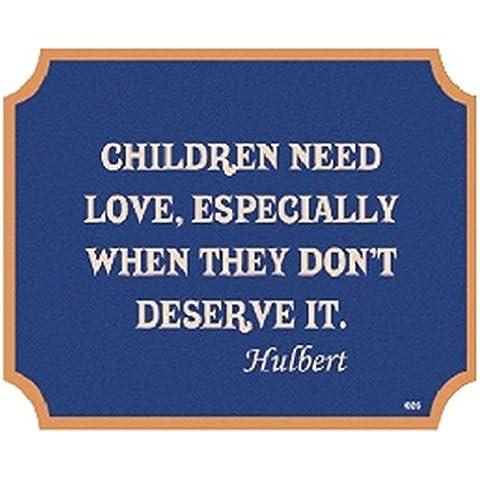 Boxer Regali piastra a muro Iscriviti I bambini hanno bisogno di amore