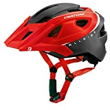 Mountainbike Helm Cratoni AllRide, Size 52-60 cm, 111208B5 Red-black matt