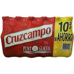 Botellín De Cerveza Cruzcampo 1/4 24u