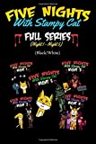 Five Nights With Stampy Cat - Full Series (Night 1 - Night 5) (Black/White): A FNAF Story Comic Book ft. Stampylongnose (Unofficial): Volume 6