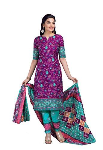 Shree Ganesh Retail Womens Printed Churidar Material | Salwar Suit | Salwar...