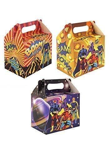 Superheld Party-schachteln, pk10