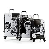 Heys Disney Princess Aurora, Cinderella and Belle Hardside Expandable Spinner Luggage Set