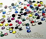 Strass Hotfix DMC color Mix SS20 pieza número a elegir brillantes parches termoadhesivos, 100