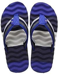5fb002628b60 Amazon.in  Blue - Flip-Flops   Slippers   Men s Shoes  Shoes   Handbags