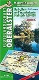 Oberalster = Rad-, Reit- und Wanderkarte - Flusslandschaft Oberalster: 1:30 - 000 - GPS geeignet - Kartennetz: Gaus-Krüger-Projektion auf WGS 84 (Rad-, ... - Maßstab 1:30 - 000 - GPS geeignet) - Detlef sen. u. Björn jr. Maiwald