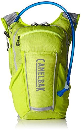 CamelBak Ultra 10Vest–Chaleco, unisex, Ultra 10 Vest, Lime Punch/Silver, 10
