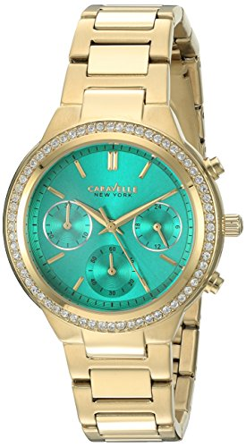 Caravelle New York Women's Quartz Stainless Steel Dress Watch (Model: 44L215)