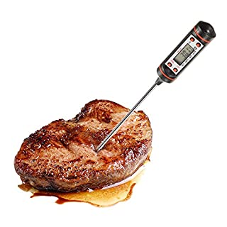 Meat Thermometer Digital Kitchen Probe Thermometer Food Cooking BBQ Meat Steak Turkey Wine