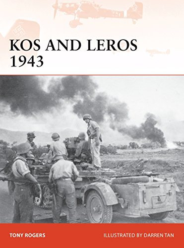Kos and Leros 1943 (Campaign Series) por Anthony Rogers
