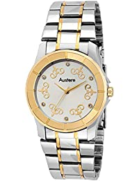 Austere Adrial Silver Dial Women's Watch (WADL-070607)