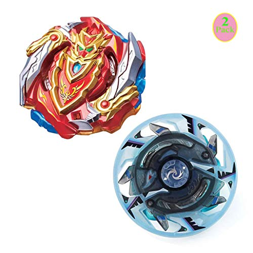 3 Peonzas + 3 Lanzadores JIENI Beyblade Burst Starter 3 Set Gyro High Performance Battling Set Juguete de Regalo Creativo - B127+B12801+B129 Juguetes Educativos