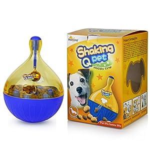 Treat Ball Il A Subi Jouets pour chien Distributeur de nourriture pour chien Balle Plus intelligente Interactive IQ Treat Balle pour animal domestique