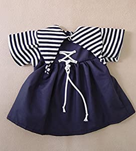 Sturm 8841-3 - Vestido para muñecas, Color Azul Marino