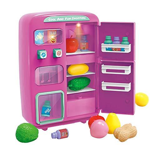 Nevera de juguete para niños, Mini simulador de simulación...