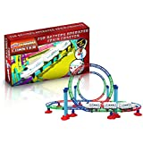 Ginzick Battery Operated Tumble Train Roller Coaster