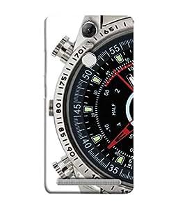 PrintVisa Designer Back Case Cover for Lenovo K5 Note :: Lenovo Vibe K5 Note Pro (Wrist watch sand time duration)