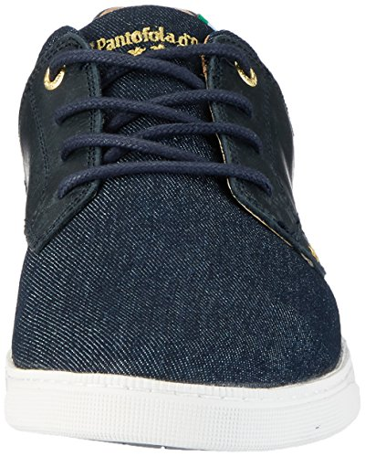 Pantofola d'Oro Herren Comacchio Canvas Uomo Low Top Blau (Dress Blues)