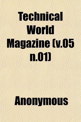 Technical World Magazine (v.05 n.01)