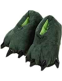 Fat rabbit Cute Monkey Slippers, Winter Home Warm Slip Cotton Slippers