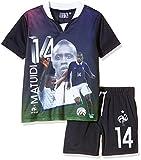 FFF EP1002 Matuidi Ensemble 2 pièces de short + T-Shirt manches courtes Garçon Bleu FR : 14 ans (Taille Fabricant : 14Y)