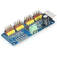 KKmoon Interfaz de IIC del controlador de la impulsión del módulo del tablero de conductor de 16-Channel 12-bit PWM Servo Motor para el robot de Arduino