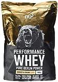 nu3 Performance Whey Protein | Cookies & Cream Blend | 1kg Proteinpulver | Voller Kekse-Geschmack | Eiweißpulver mit guter Löslichkeit bei hohem Proteingehalt