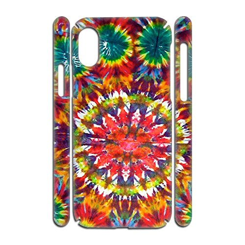 Walt Discover Shop Shells Funny with Tie Dye for Apple X iPhone Boys Rigid Plastic