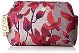 Oilily Damen Ruffles Cosmeticpouch Lhz 2 Clutch, Rot (Dark Red), 11x18.5x25.5 cm