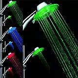 GuDoQi® Magie shower head 7 farben ändern RGB 2 setzen romantische LED neon shower head mobile home hotel badezimmer
