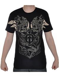 TAPOUT Bolt - Herren T-Shirt - MMA / UFC / Free Fight - Schwarz