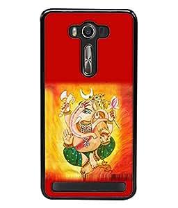 Fuson Designer Back Case Cover for Asus Zenfone 2 Laser ZE550KL (5.5 Inches) (saint Hindu sabaka malik ek )
