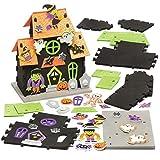 Baker Ross Kits de Casas embrujadas (Pack de 2) para Manualidades y Decoraciones Infantiles de Halloween