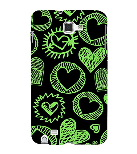 PrintVisa Designer Back Case Cover for Samsung Galaxy Note 2 :: Samsung Galaxy Note Ii N7100 (pouch case cover holder bodypanels)  available at amazon for Rs.349